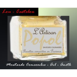 Moutarde Popol Concombre Ail Aneth